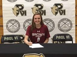 Former OLGC student commits to Brown University
