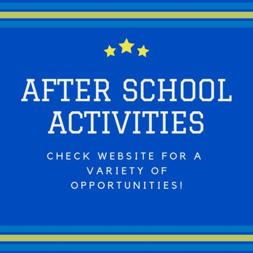 After School Activities - Sign Up, Now!