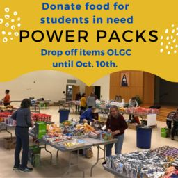 Power Packs for Students in Need: March 20th